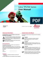 TPS700 User Manual En