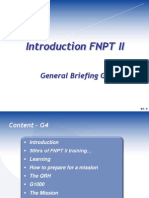 G4 - Introduction FNPT II