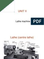 UNIT II-Turret Lathe