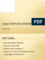 Cloud Computing Overview 0 1d