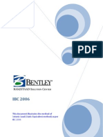 IBC 2006 SEISMIC PARAMETER  for staad