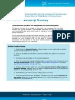 Manuscript Review instructions
