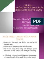 Slide Bao Cao an Ninh Mang