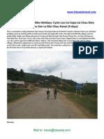 Cycling Vietnam Lao Cai Sapa Lai Chau Dien Bien Phu Son La Mai Chau Hanoi