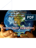 ozone layer depletion xom