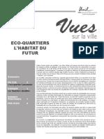 Eco-Quartier _exemple de Lausanne & Article Sur l'Habitat Du Futur 2007