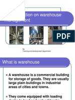 A Presentation on Warehouse Management