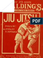 JIU-JITSU - The Effective Japanese Mode of Self-Defense Illustrated by Snapshots of K Koyama & a Minami (1916)