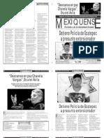 Versión impresa del periódico El mexiquense 6 agosto 2012