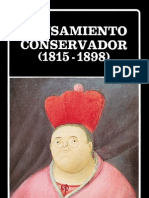Pensamiento Conservador (1815-1898).