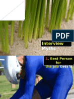 The Most Common Myths about INTERVIEW