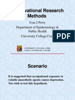 Cross Sectinal and Methods