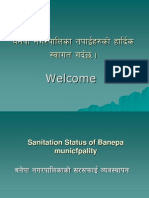 Sanitary Status of Banepa