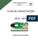 Plan Capacitacion 2010 2012