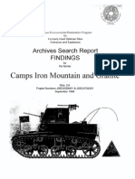 Camp Iron Mountain History