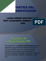 Partes Del Computador Laura y Yeny