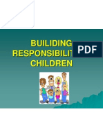Builiding Responsibility in Children