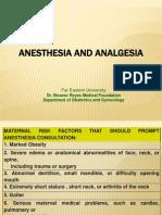 o. Anesthesia