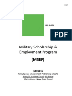 2013 Msep Program Mil- H& R Block
