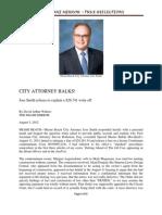 Miami Beach City Attorney Jose Smith Balks