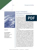 Scope 3 - Die Bessere Klimabilanz für Unternehmen?