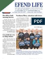 Defend Life Newsletter (2006 Prolife Propaganda)