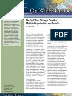 The East-West Strategic Corridor
