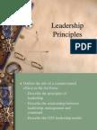 1 Leadership Principles