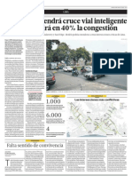 06.08.2012  Jesús María tendrá cruce vial inteligenteque disminuirá en 40% la congestión