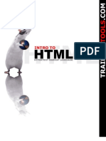 Introduction of HTML
