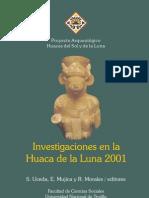Investigaciones en La Huaca de La Luna2001