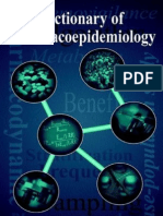 Dictionary of Pharmacoepidemiology