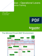 Intermediate Excel 2007