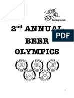 2nd Annual Beer Olympics