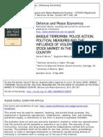 Basque Terrorism