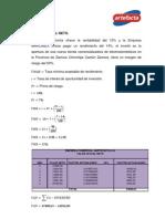 TECNICAS DE DECISIÓN DE INVERSIÓN