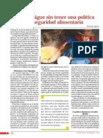 El Peru Sigue Sin Tener Una Politica de Seguridad Alimentaria