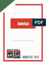 Media Kit Apertura 2012