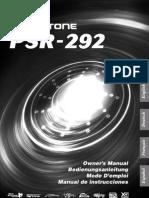 PSR292Es