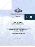 TO-DL_10426 Código de Familia