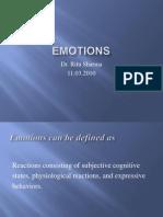 Emotions 11.3.10