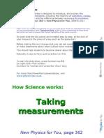 HowScienceWorks Taking Measurements