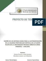 Proyecto de Tesis - Caldera.