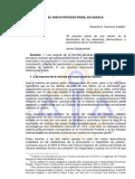 El Nuevo Proceso Penal en Oaxaca
