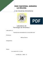 Tecnología de Alimentos I Primer Informe