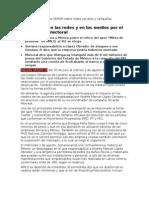 Reporte OMCIM 16 Lunes 6 de Agosto de 2012