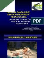Urgencias Cardiologicas Neonatales Jvm