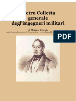 1847 Mariano d'Ayala. Pietro Colletta General of the Neapolitan Engineers