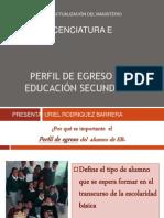 Perfil de Egreso EB
