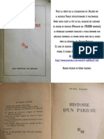 Histoire d'un Parjure, michel Habart